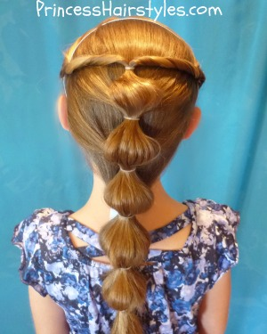 Princess Jasmin Hair